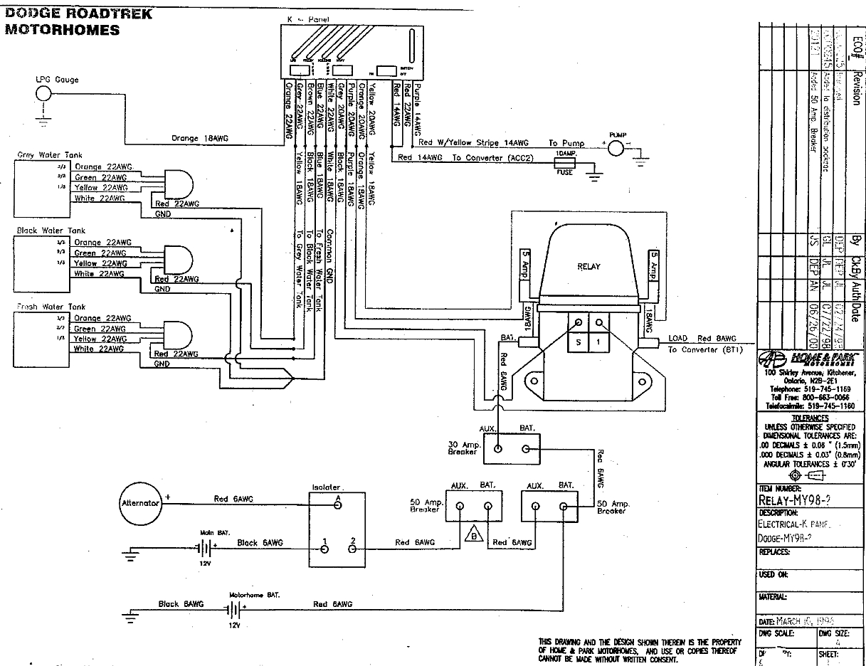 roadtrek 1996 popular dc house wiring roadtrek wiring diagram #3
